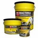 Bitumena mastika №21 (TECHNOMAST), 20kg/kanna