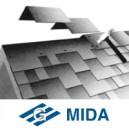 Kores/karnīzes šindeļi (MIDA), 5m2/paka