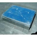 Jumtu luka ar gāzes amortizatoriem 1000x1000mm