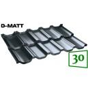 Модульная металлочерепица BudMat VENECJA D-Matt 30*
